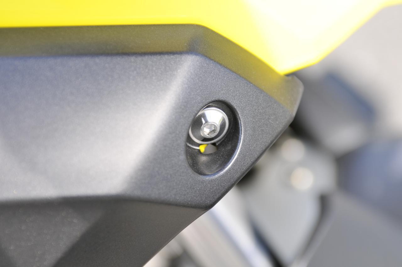 画像4: スズキのバイクのカウルには『謎の穴』が空いている