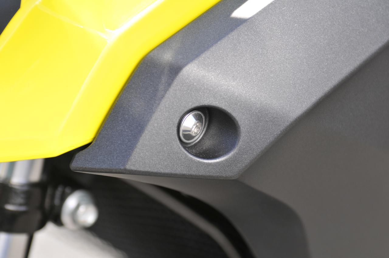 画像5: スズキのバイクのカウルには『謎の穴』が空いている