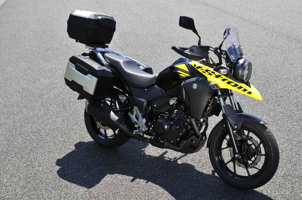 画像: Vストローム250は250ccバイクで最高の荷物積載力!