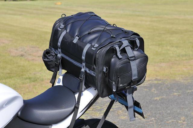 画像3: 大型ツーリングバッグはスズキ『GSX-S1000F』に積めるのか?