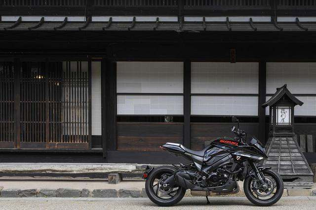 画像: 高性能な大型バイクだけど『カタナ』はムードを楽しみたい
