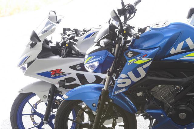 画像: スズキ『GSX』の名を持つ原付二種125ccスポーツ