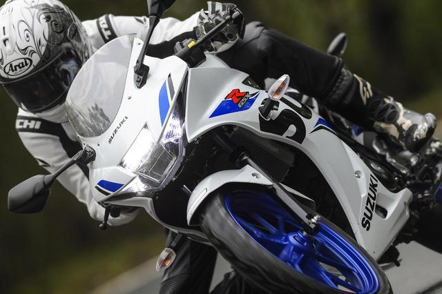 画像: スズキGSX-R125で『スピードを出さない』とわかること