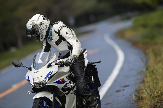 画像: 原付二種/125ccバイクのGSX-R125で『走りの極意』は掴めるか?