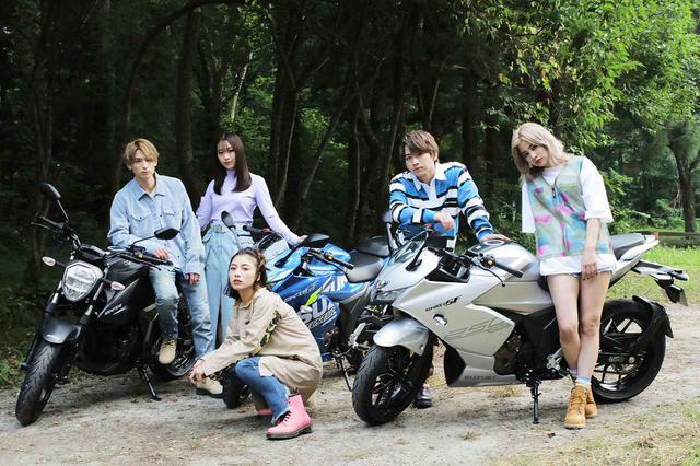 画像: バイクと青春な感じに『キュン』ときます……