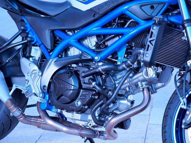 画像3: SV650は『ブレーキ強化』で何が変わる?