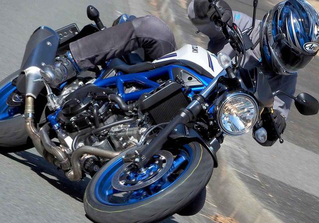 画像1: ブレーキが苦手な人にこそSV650はおすすめしたい!