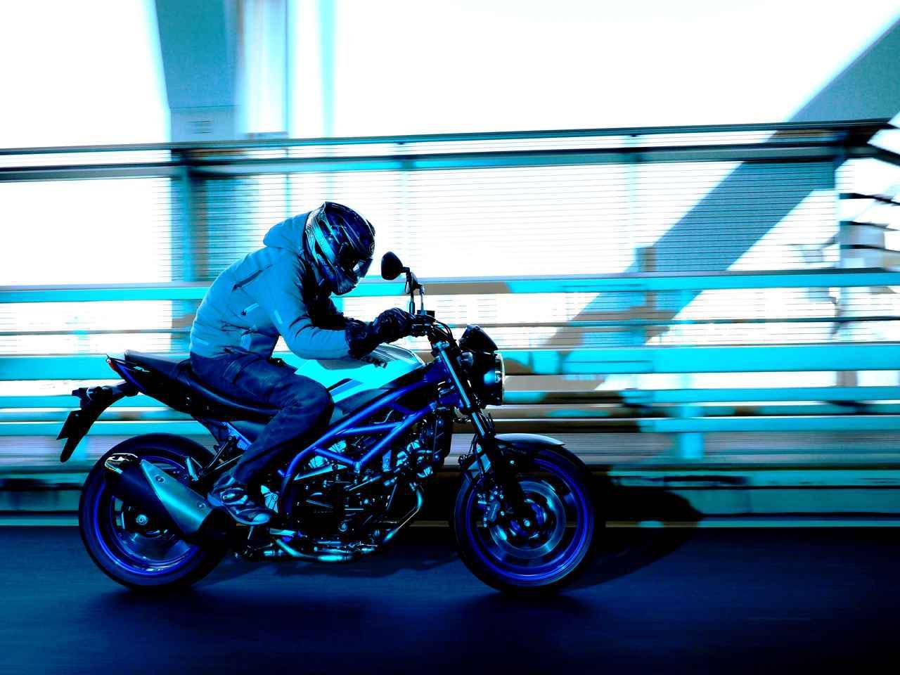 画像2: SV650は『ブレーキ強化』で何が変わる?