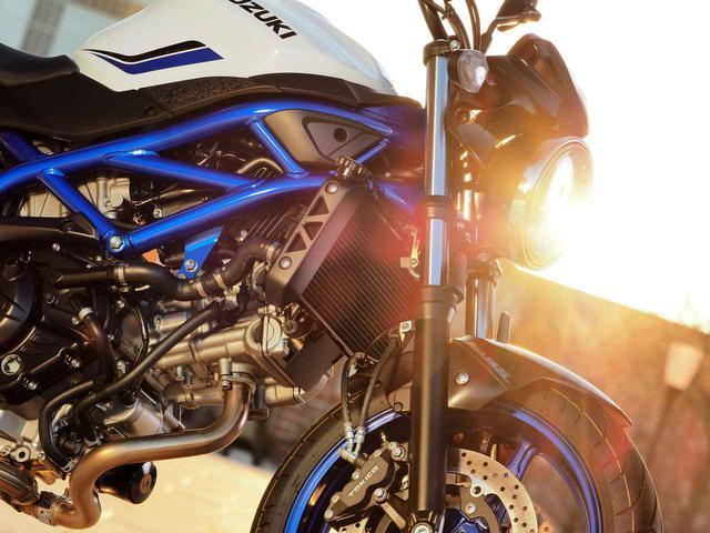 画像3: あえて650ccの『SV650』を選ぶ理由