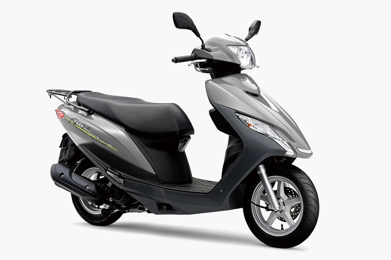 画像: 通勤快速! 125ccスクーターの定番『アドレス125』