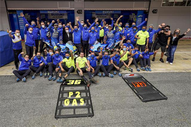 画像2: チーム・スズキ・エクスター初のW表彰台。そしてジョアン・ミルはランキング2位!