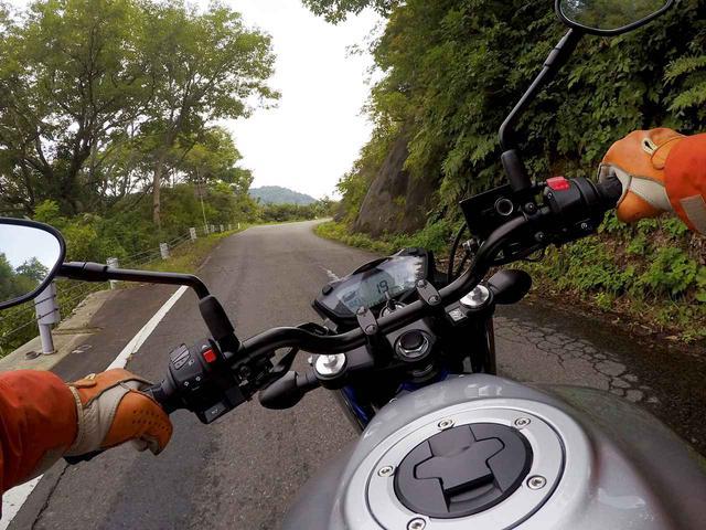 画像1: バイクに乗っているときに感じる恍惚感と集中力