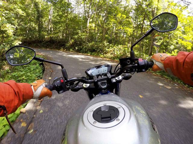 画像2: バイクに乗っているときに感じる恍惚感と集中力
