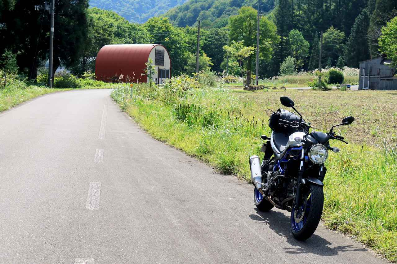 画像4: 酷道は新潟県から福島県へ。SV650を選んだことは本当に『幸運』だったのかもしれない