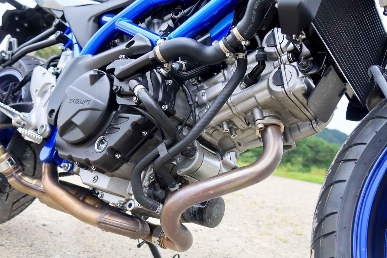 画像1: ② SV650のエンジンは力強いだけでなく、味わい深い