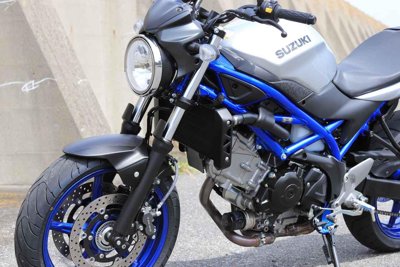 画像1: 650ccでもきっちり大型バイク!スズキ『SV650』で1泊2日700km走って感じた◎と✖【SV650ツーリング・インプレ】