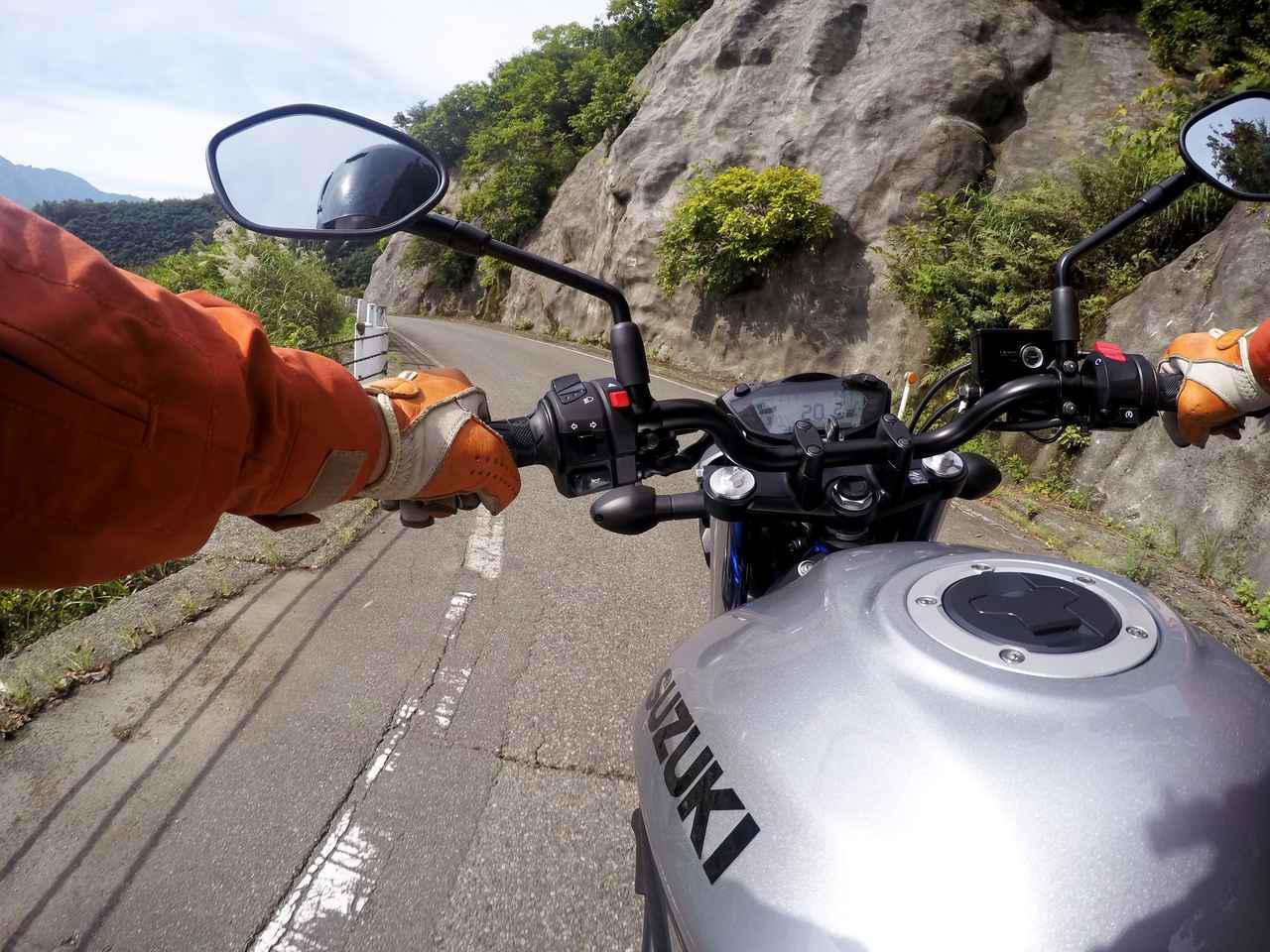 画像2: 「酷道」と呼ばれる危険すぎる道『国道352号線 樹海ライン』をゆく【スズキSV650 酷道ツーリング紀行・前編】