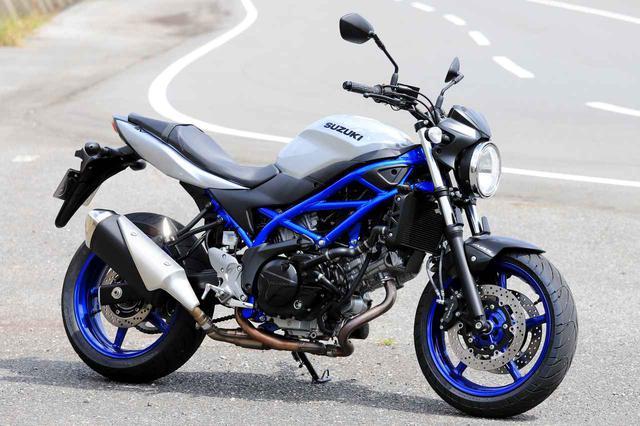 画像: SUZUKI SV650 ABS 総排気量:645cc メーカー希望小売価格:75万2400円(消費税10%込)