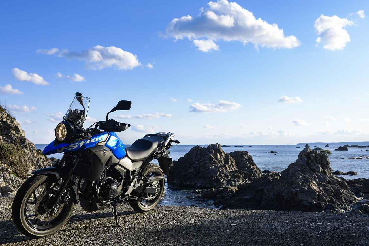 画像: 1日600kmを余裕で走れる250ccのツーリングバイク。スズキの『Vストローム250』のコスパは価格じゃ計れない。 - スズキのバイク!