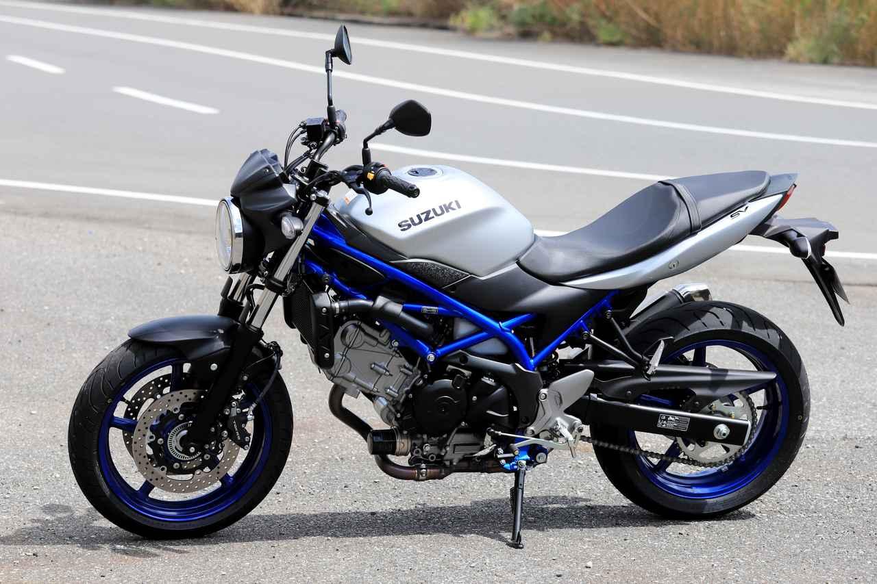 画像: SUZUKI SV650 ABS メーカー希望小売価格:78万5400円 ※本記事の車両は2020カラーです