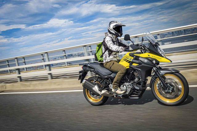 画像4: 高速道路で『Vストローム650XT』の旅バイク性能が更に開花