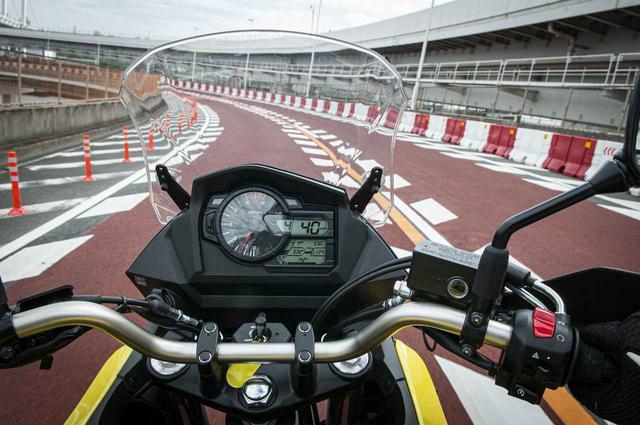 画像1: 高速道路で『Vストローム650XT』の旅バイク性能が更に開花