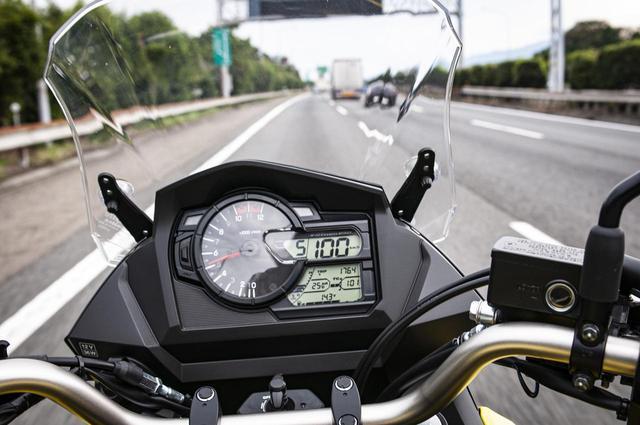 画像3: 高速道路で『Vストローム650XT』の旅バイク性能が更に開花
