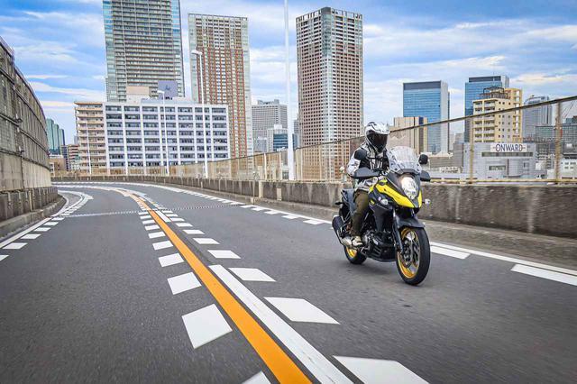 画像2: 高速道路で『Vストローム650XT』の旅バイク性能が更に開花