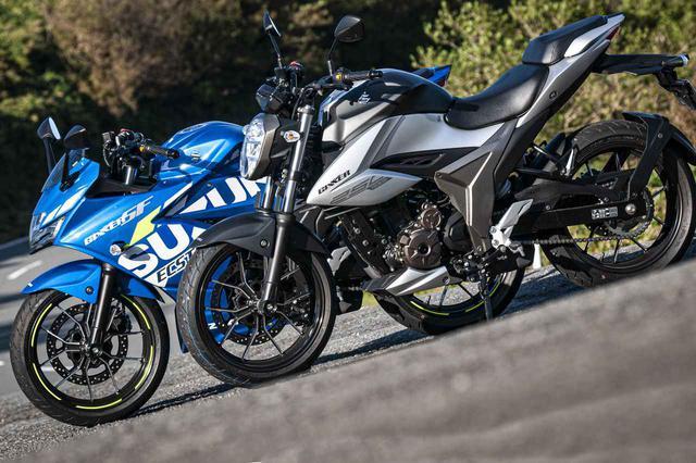 画像1: ジクサー250とジクサーSF250は、コーナリングでは別のバイク