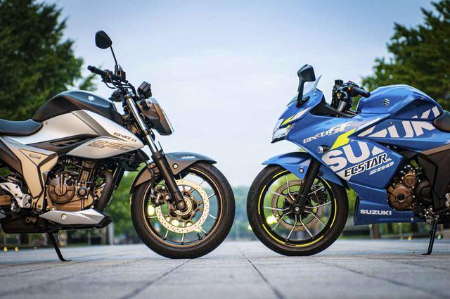 画像1: 50万円以下で新車が買える唯一の250ccバイク。『ジクサーSF250』と『ジクサー250』から始めるバイクライフってどう? - スズキのバイク!
