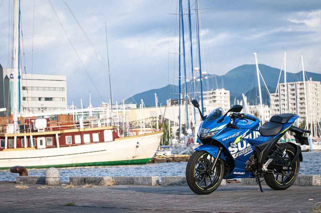 画像2: スズキのバイクは、すべてツーリングが視野にある