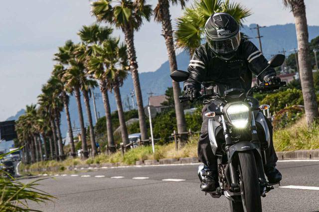 画像3: 一般的な250ccスポーツバイクよりも快適性は高い