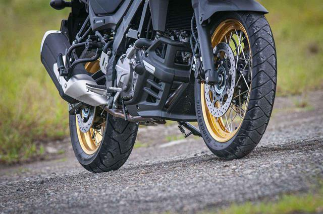 画像3: Vストローム650XTは純正タイヤでオフロードを楽しめる?