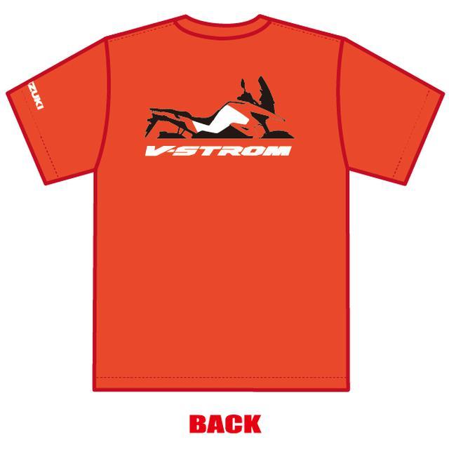 画像1: VストロームTシャツは3サイズ!
