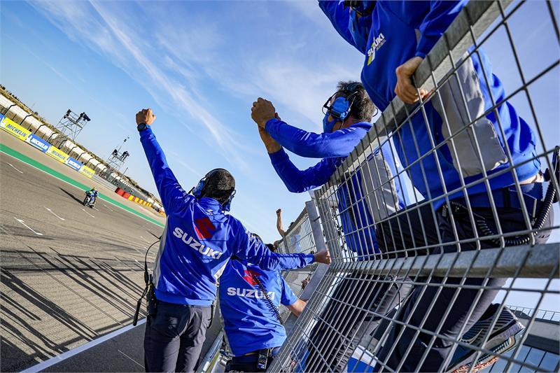 画像2: 【完・全・勝・利】スズキが圧倒的! MotoGP2020第11戦アラゴンGPでリンスが優勝! ジョアン・ミルはランキングトップへ!【100%スズキ贔屓で楽しむバイクレース⑧/MotoGP】
