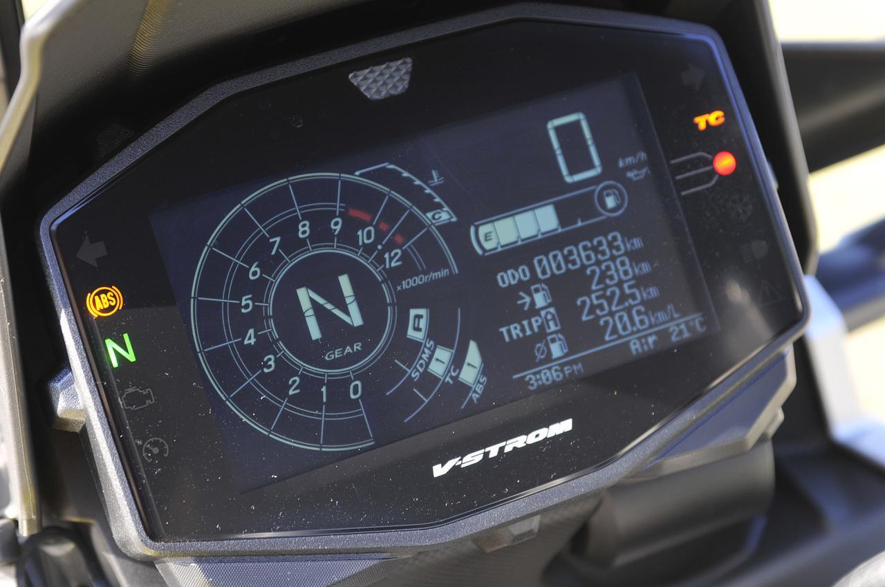 画像1: 電子制御で『Vストローム1000の快適』も選択できる!?