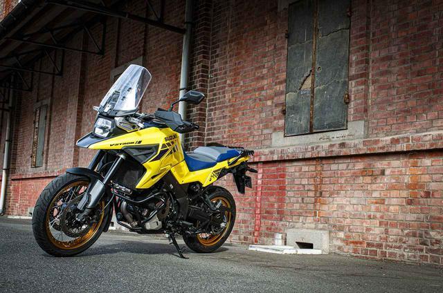 画像1: スズキのバイクには『強い車体』が標準装備されている