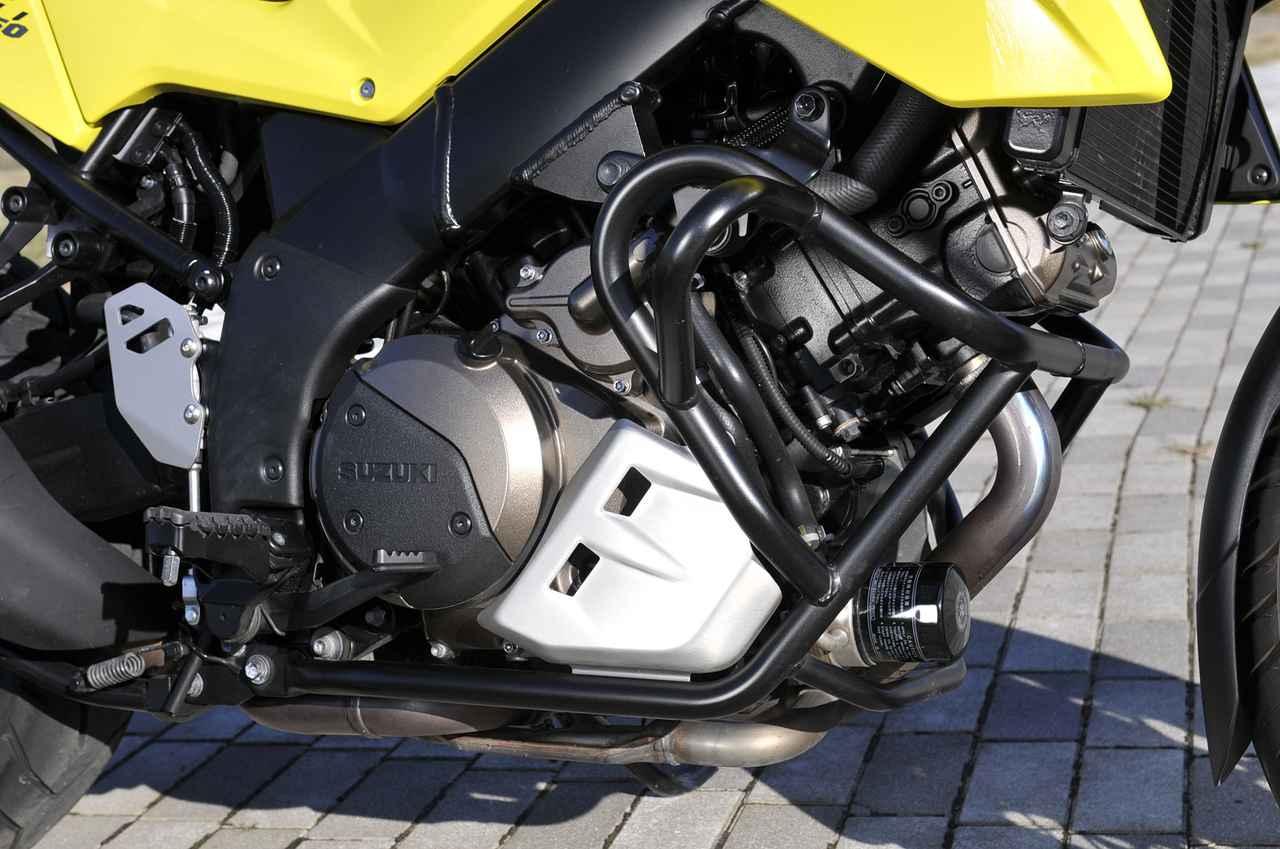 画像: Vストローム1050XTのエンジンは『楽しさ』と『味わい』が別々に棲む