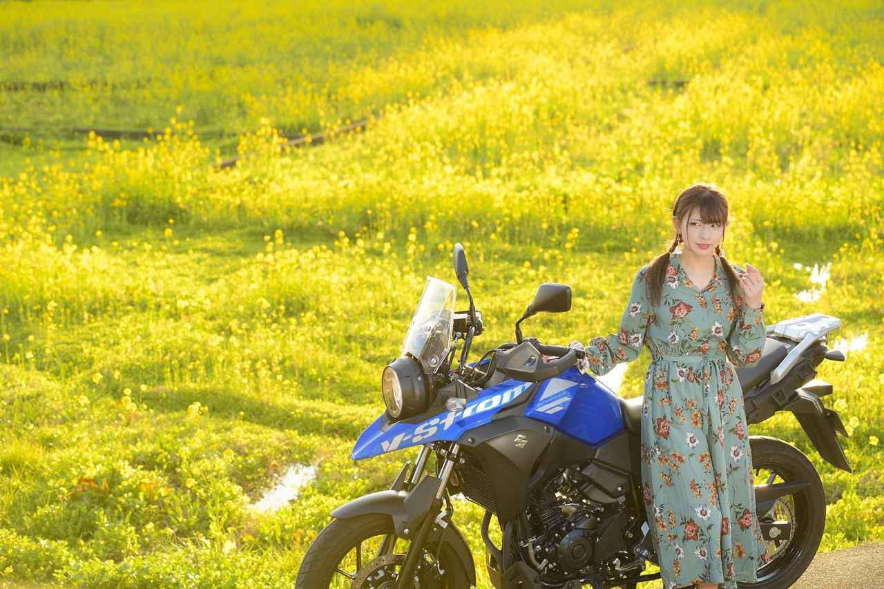 画像6: 第二弾! 葉月美優とVストローム250【PHOTO GRAVURE】