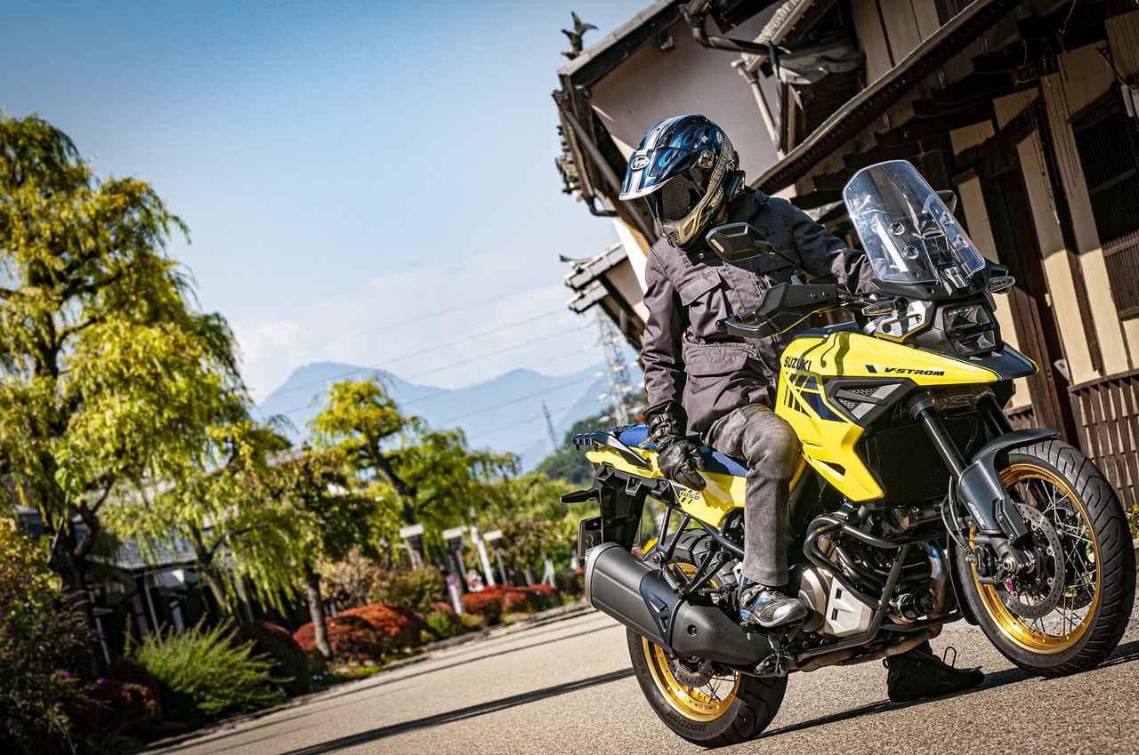 画像1: 本当に旅を愛するバイク乗りに『Vストローム1050』はおすすめしたい