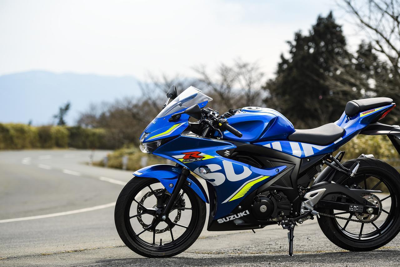 画像: 『GSX-R125』って、いま手に入る最強の原付二種で最速の125ccじゃないか?- スズキのバイク!
