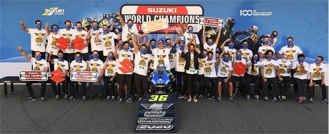 画像: スズキ100周年の年に世界最高峰のバイクレースMotoGPで20年ぶりの王座!