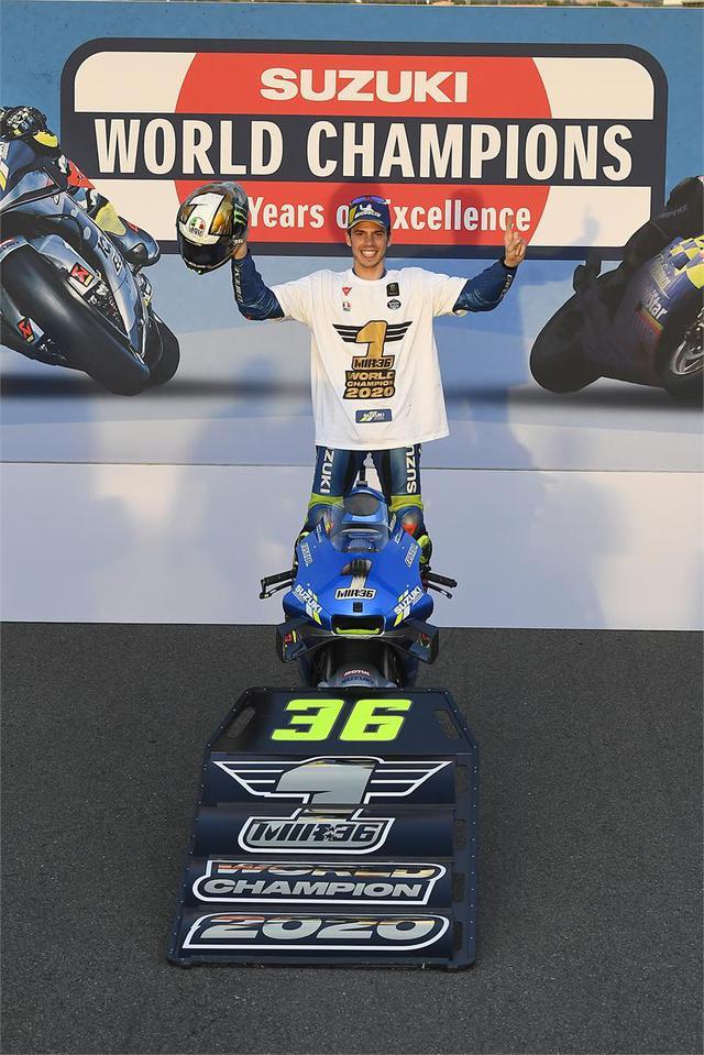画像: 【20年ぶり王座奪還!】スズキ『ジョアン・ミル』がワールドチャンピオン獲得!チーム・スズキ・エクスターが2020シーズンのモトGPを制す!【100%スズキ贔屓のバイクレース11/MotoGP】