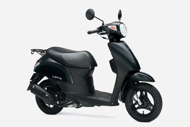 画像4: 新車が16万円台で買えて燃費も抜群のおすすめ50ccバイク! かわいい系原付スクーターで最高コスパのスズキ『レッツ』にお洒落ベージュが追加!