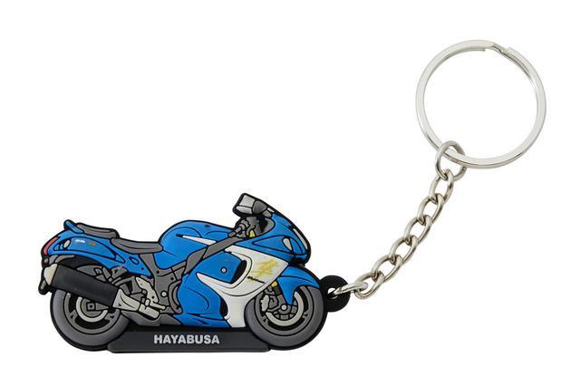 画像4: 隼やGSX-S1000シリーズ、Vストロームなど6種類! 自分へのプレゼントに愛車とお揃いの『キーホルダー』はいかが?【寝ても覚めてもスズキのバイク!/キーホルダー 編】