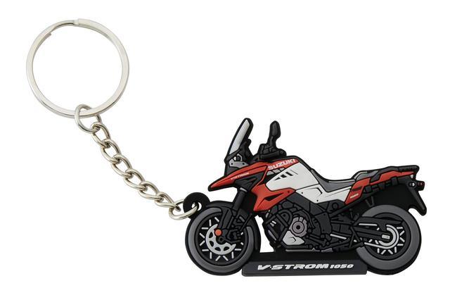 画像1: 隼やGSX-S1000シリーズ、Vストロームなど6種類! 自分へのプレゼントに愛車とお揃いの『キーホルダー』はいかが?【寝ても覚めてもスズキのバイク!/キーホルダー 編】