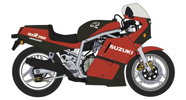 画像: スズキ GSX-R750R | 株式会社 ハセガワ