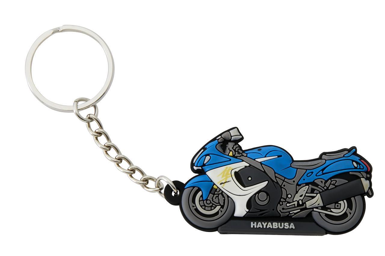 画像3: 隼やGSX-S1000シリーズ、Vストロームなど6種類! 自分へのプレゼントに愛車とお揃いの『キーホルダー』はいかが?【寝ても覚めてもスズキのバイク!/キーホルダー 編】