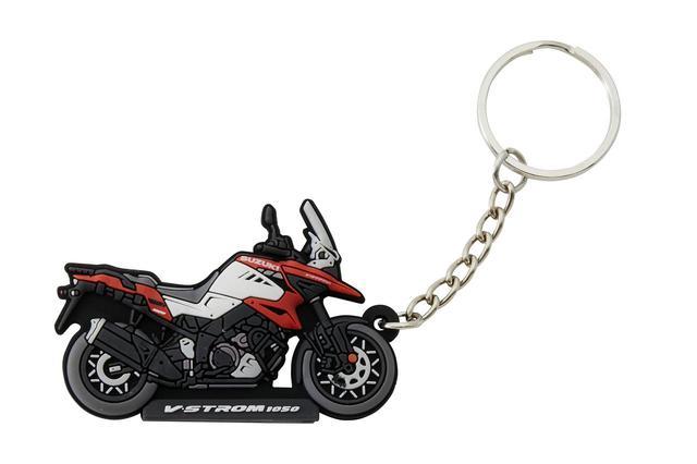 画像2: 隼やGSX-S1000シリーズ、Vストロームなど6種類! 自分へのプレゼントに愛車とお揃いの『キーホルダー』はいかが?【寝ても覚めてもスズキのバイク!/キーホルダー 編】