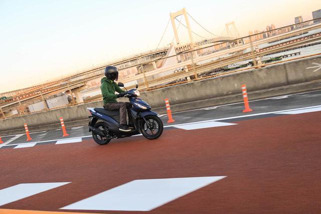 画像3: 125cc以上? やたらと元気なアドレス110の加速力!